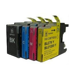 20ML  Compatible per Brother Mfc J6510DW,J6910DW.LC-1280XLY