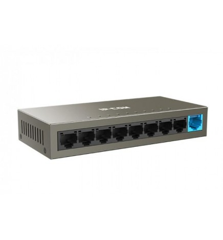 Switch 9 porte 10/100Mbps in metallo IP-COM F1109D