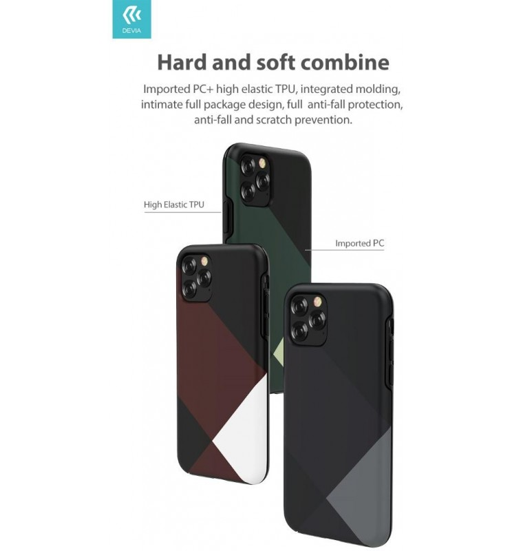 Cover Simple Style per iPhone 11 Rossa