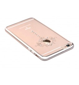 Cover Crystal Iris Swarovsky iPhone 6S/6 Champagne Gold