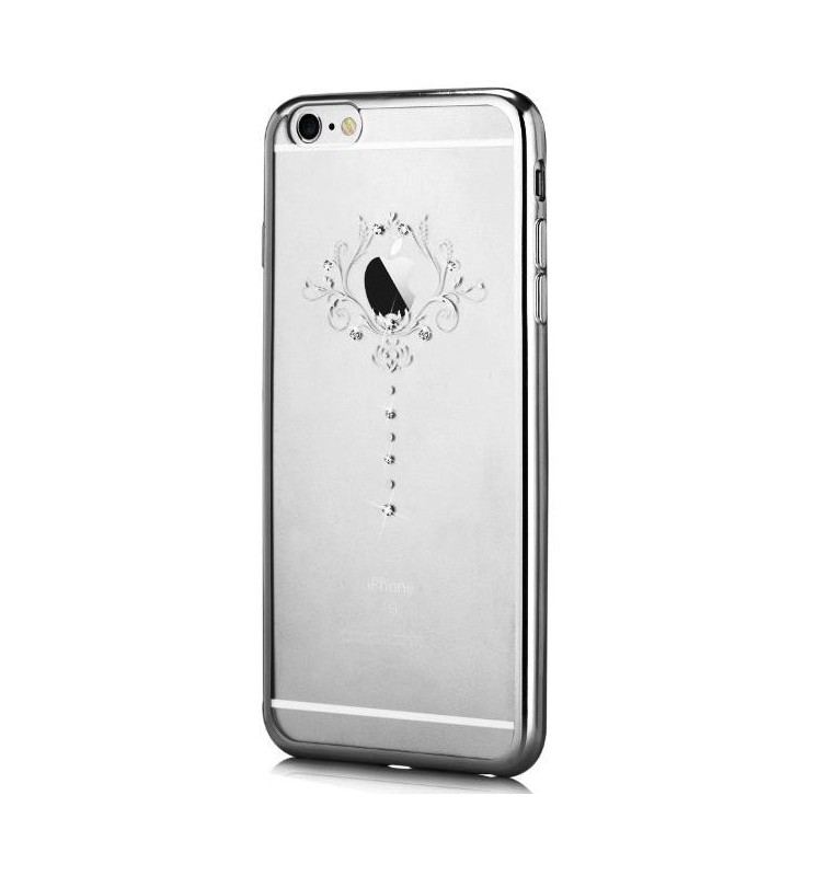 Cover Crystal Iris per iPhone 6S/6 Colore Argento