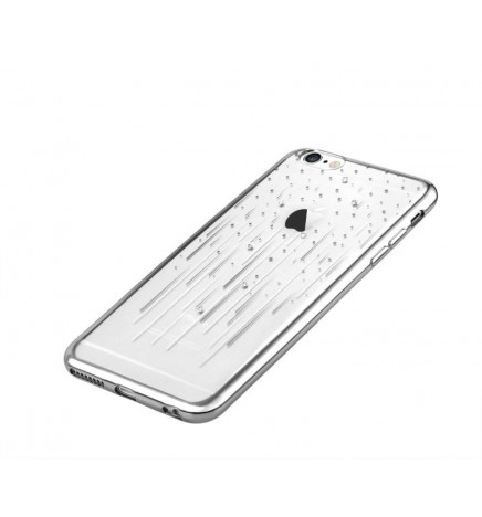 Cover Crystal Meteor per iPhone 6S/6 Colore Argento