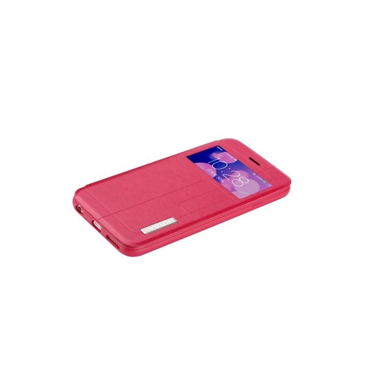 Cover for Iphone 6 Plus -Premium PU leather RED Plaid