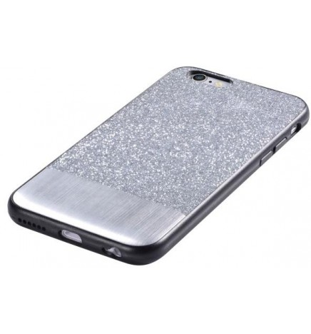 Cover Racy Glitterate per iPhone 6/6S Plus Argento