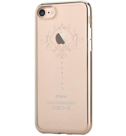 Cover Soft Crystal Iris Swarovsky iPhone 7 Plus Champagne G
